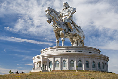 World's largest statue of Ghenghis Khan